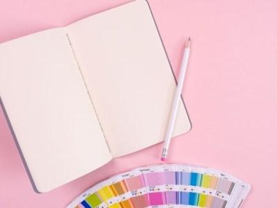 Graphic design stock image