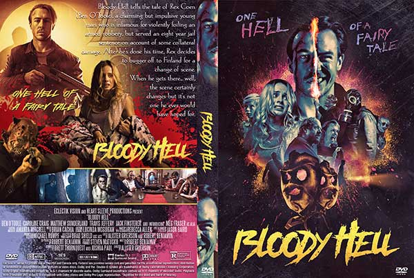 Bloody Hell (2020) DVD Cover