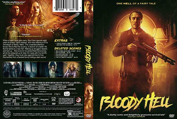 Bloody Hell (2021) DVD Cover