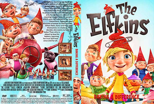 The Elfkins - Baking a Difference (2021) DVD Cover