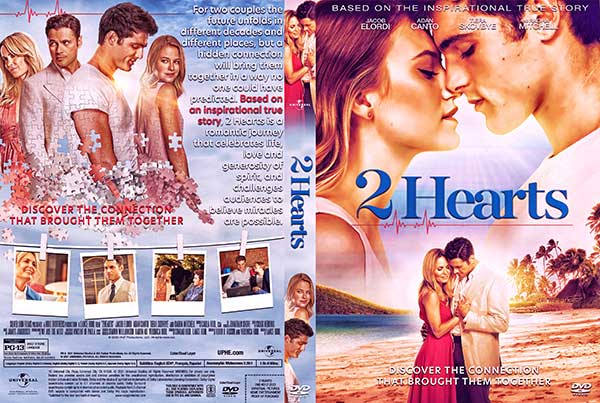 2 Hearts (2020) DVD Cover
