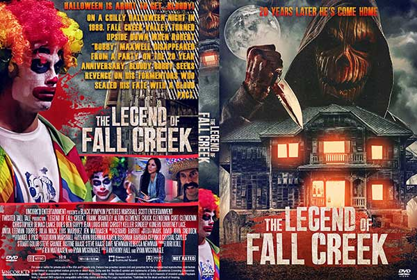 Legend of Fall Creek (2021) DVD Cover