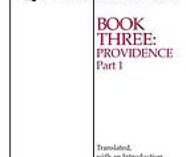 Summa Contra Gentiles Book 3 Providence Part 1