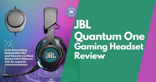 JBL Gaming Headset - JBL Quantum One Review