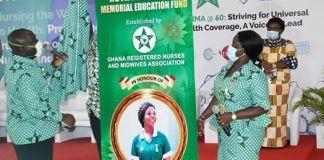 GRNMA outdoors Ruth Ama Eshun memorial education fund