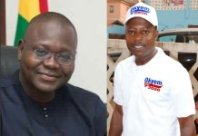 Francis Asenso Boakye (Left) AND Hon. Daniel Okyem Aboagye (Right)