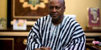 H.E John Dramani Mahama