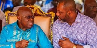 H.E Nana Addo Dankwa Akufo-Addo (Left) and Dr. Mathew Opoku Prempeh (Right)
