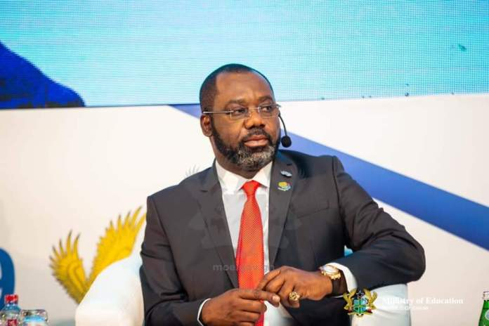 Minister of Education Hon. Dr. Mathew Opoku Prempeh