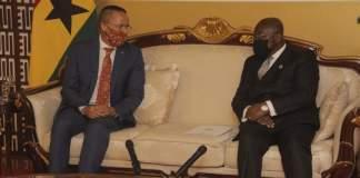 Australian High Commissioner and President Nana Addo Dankwa Akufo-Addo