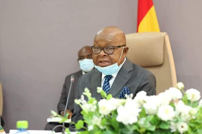 Speaker of Parliament, Rt Hon Prof Aaron Oquaye