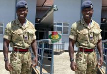 Ghanaian British Army Officer, Sergeant Jonathan Biney