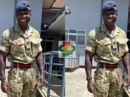Ghanaian British Army Officer, Sergeant Jonathan Biney