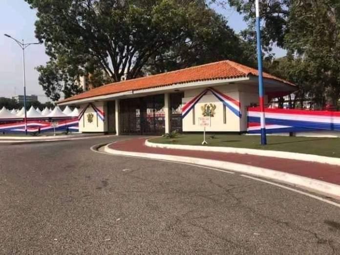 NPP prepares Venue for Sunday's thanksgiving Service