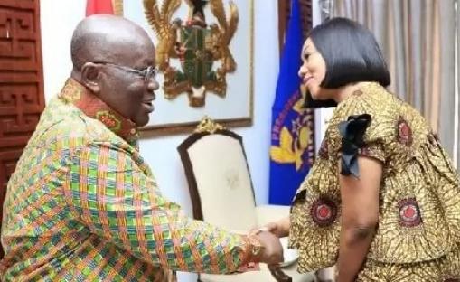 Nana Addo Dankwa Akufo-Addo and Jean Mensa