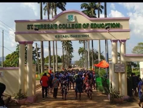 St. Teresa's College of Education entrance