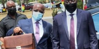Osei Kyei-Mensah-Bonsu and Dr. Mahamudu Bawumia