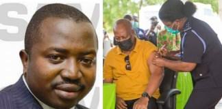 Stephen Atubiga and John Dramani Mahama