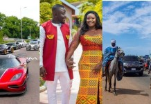 Very Expensive Luxury Cars at Dr. Pounds' Marriage ceremony