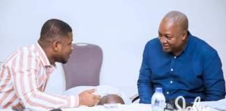 Sammy Gyamfi and John Dramani Mahama