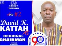 David Kattah, Volta Regional GNAT Chairman