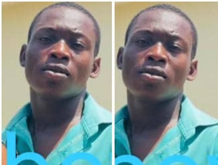 The suspect, Akakpo Gilbert