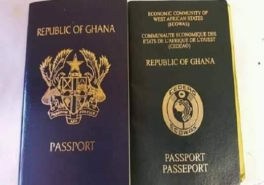 Ghana passport