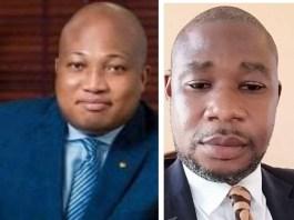 Samuel Okudzeto Ablakwa and Divine Osborn Kwadzo Fenu