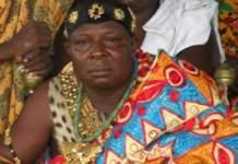 Paramount Chief of the Aflao Traditional Area Torgbui Adzonu-Gaga Amenya Fiti V