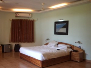 Super deluxe room at Dolphin Resort, Havelock