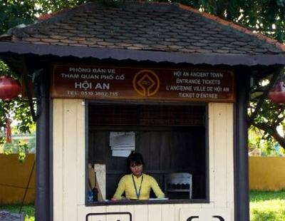 Ticket Booth at Hoi An