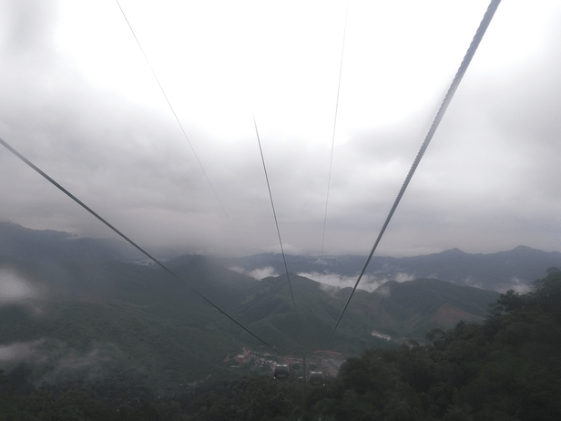 Cable car ride to Bana hills