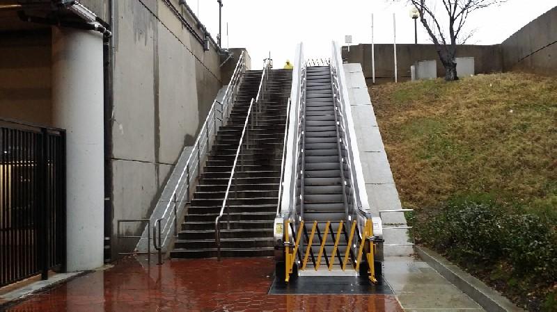 Huntington escalator