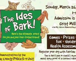 Ides of Bark flyer
