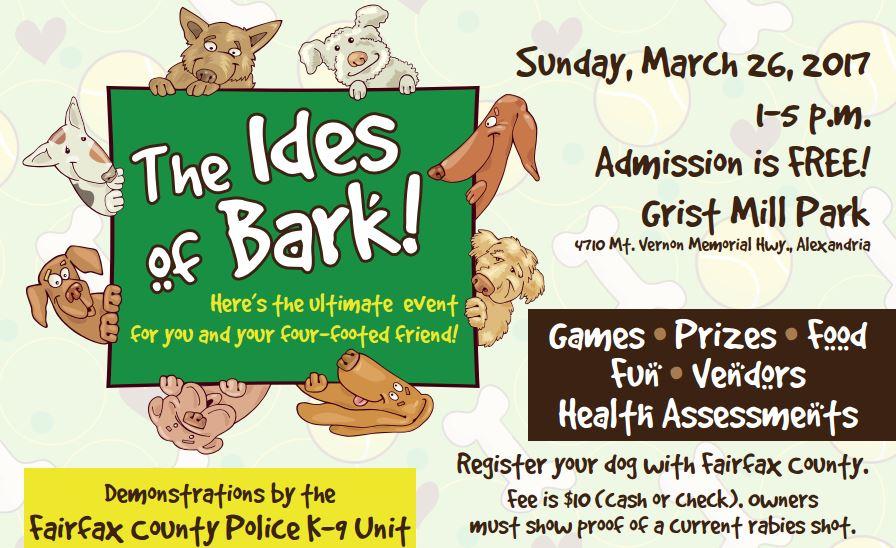Ides of Bark flyer