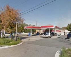 Exxon station at 8861 Richmond Highway