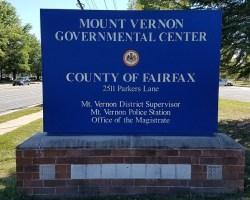 Mount Vernon Governmental Center sign