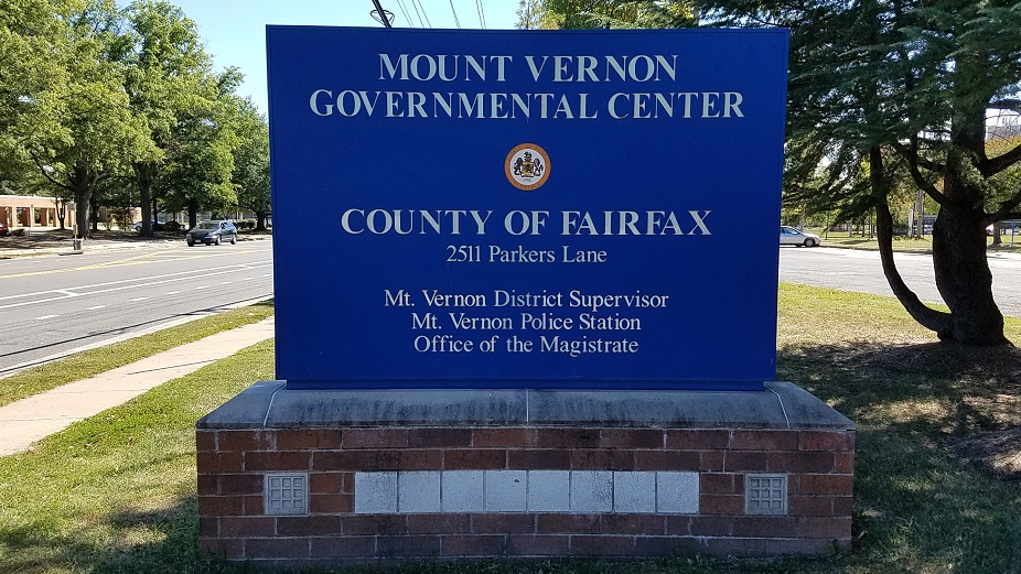 Mount Vernon Governmental Center sign