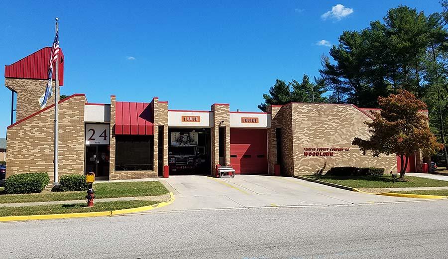 Woodlawn fire station