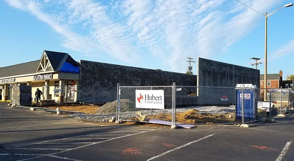 Huntington Station construction