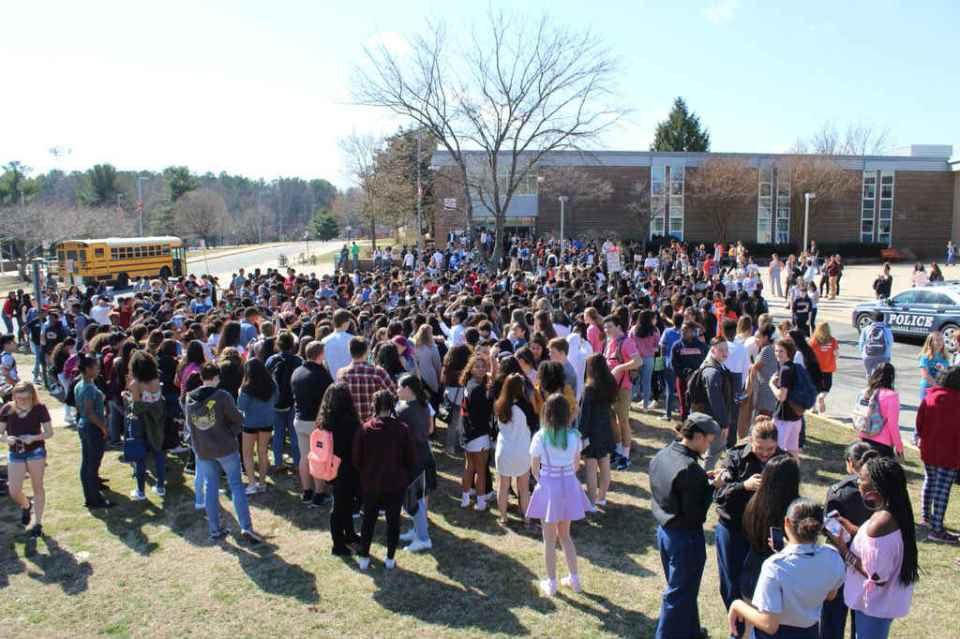 Hayfield walkout