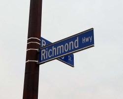 Richmond Highway signs