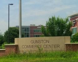 Signage at Gunston Commerce Center