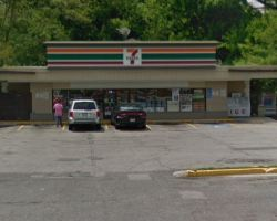 Google maps shot of Russell Road 7-Eleven