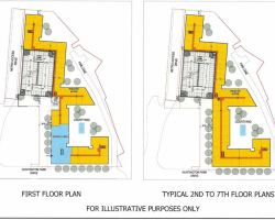 Floor designs for new building