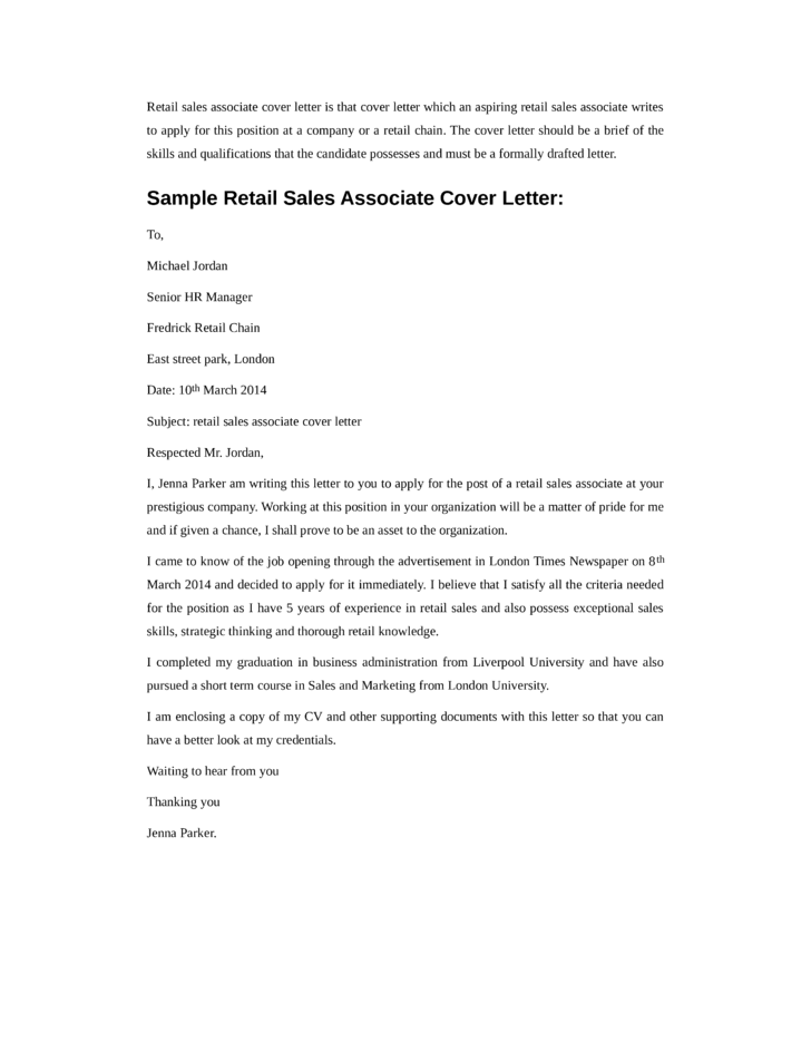 Cover letter resume example retail | Where can i buy essay ...