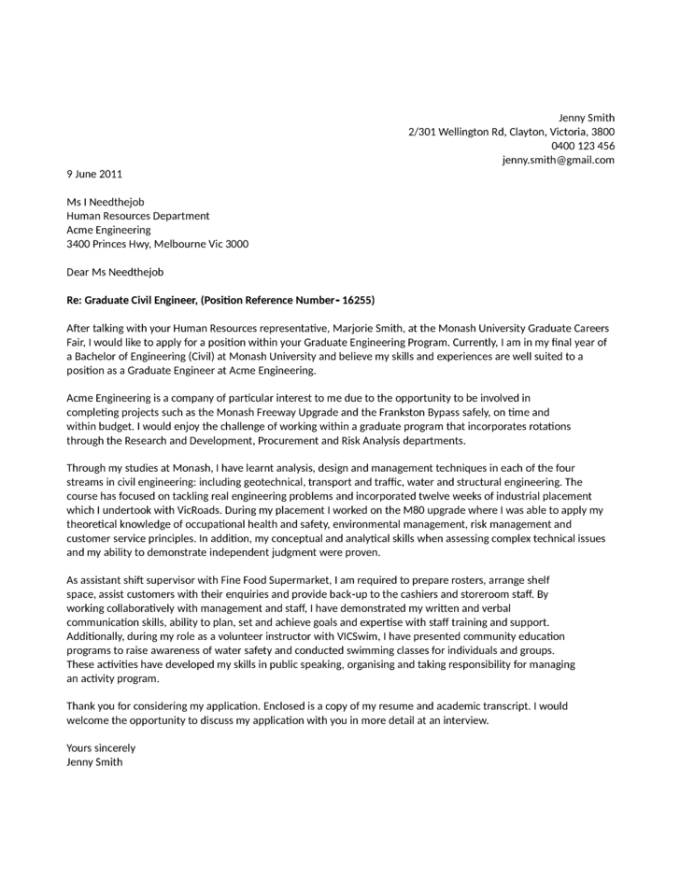 engineering cover letter samples best ideas of email cover letter ...