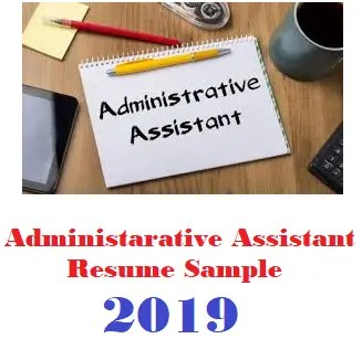 Administrative Assistant Resume Sample 2019 Best Admin Resumes