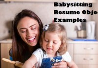 Babysitting-Resume-Objectives-Page-Image-1