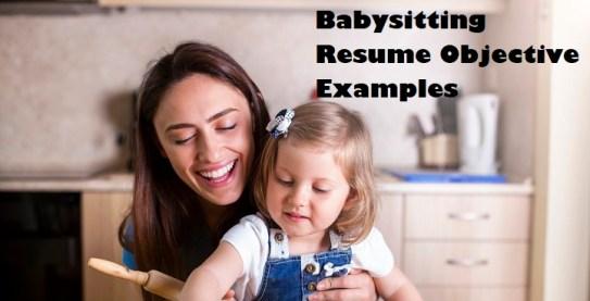 Babysitting-Resume-Objectives-Page-Image-1